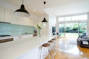 Glass Splashback in Geraldton kitchen